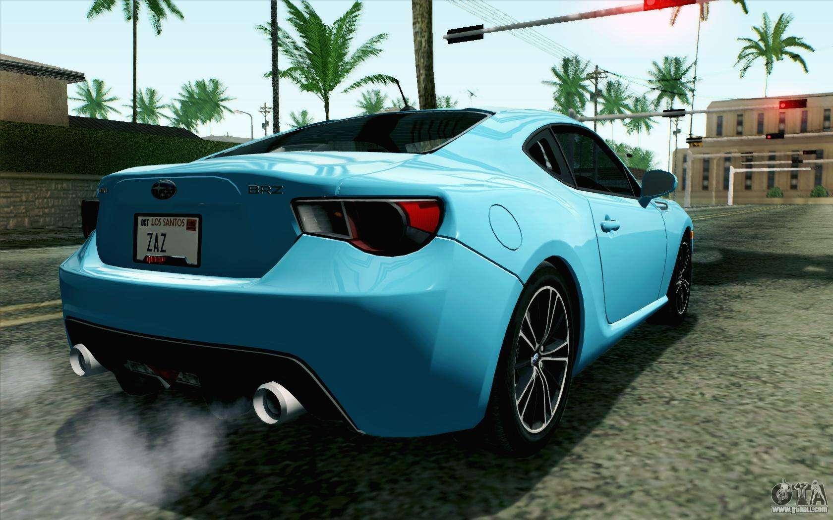 Subaru BRZ 2012 for GTA San Andreas