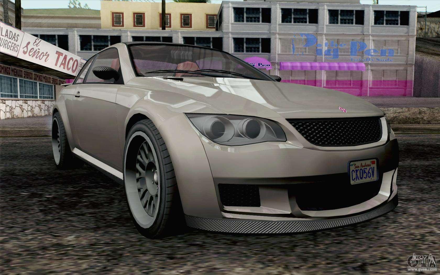 GTA 5 Ubermacht Sentinel XS IVF for GTA San Andreas