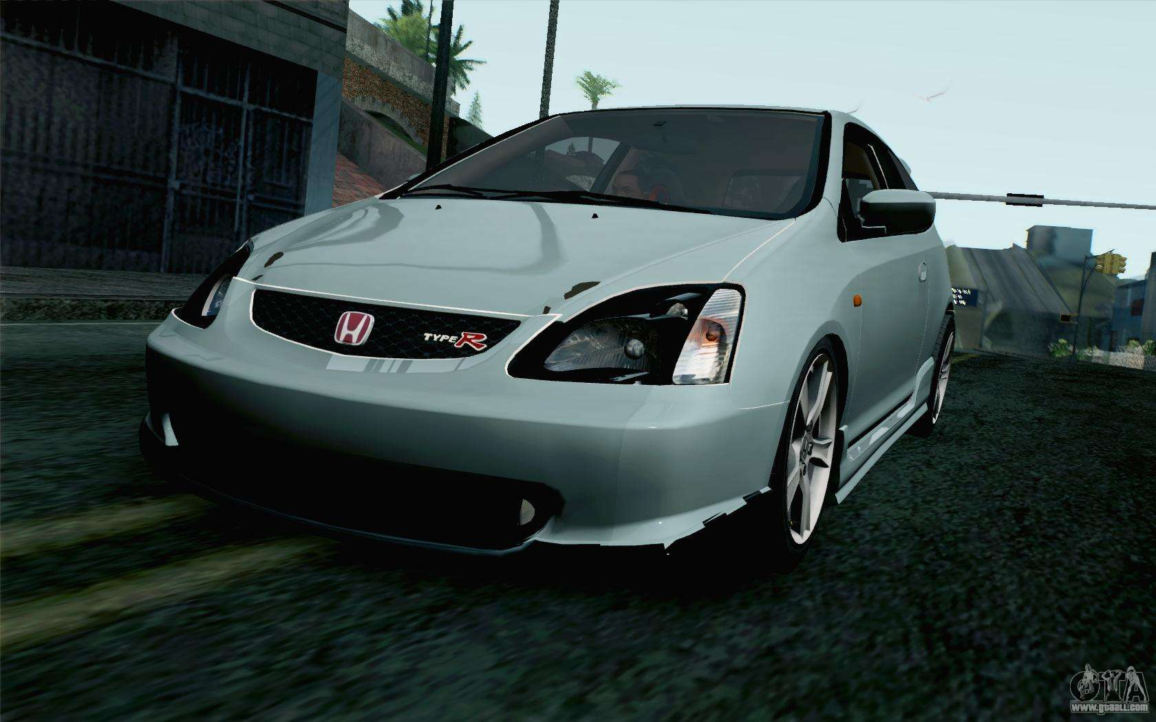 honda civic type r for gta san andreas. Black Bedroom Furniture Sets. Home Design Ideas