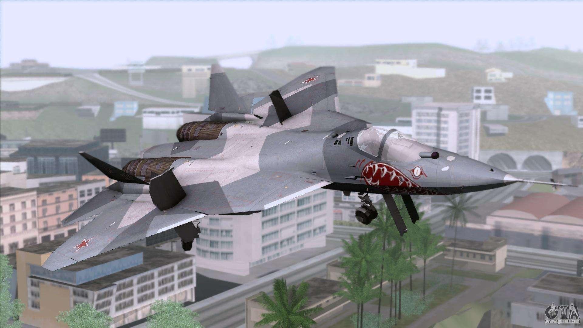 Sukhoi T 50 Pak Fa Akula For Gta San Andreas Images, Photos, Reviews