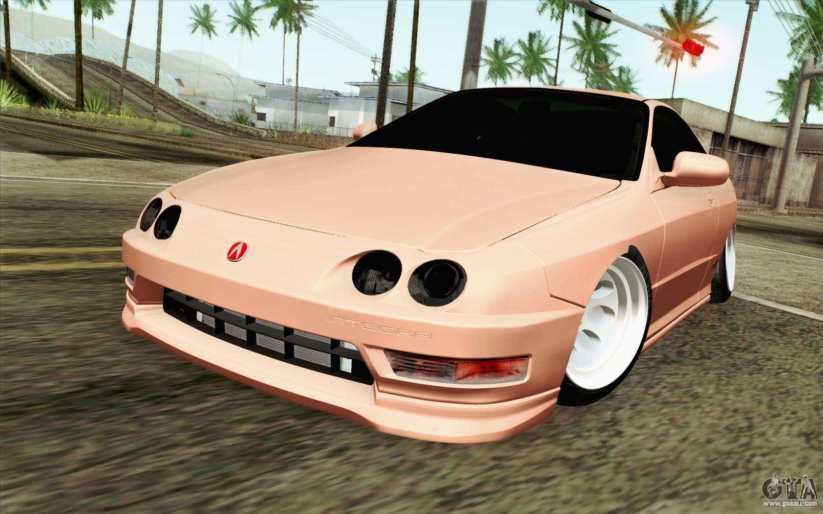 Acura Integra Type R 2001 Jdm For Gta San Andreas