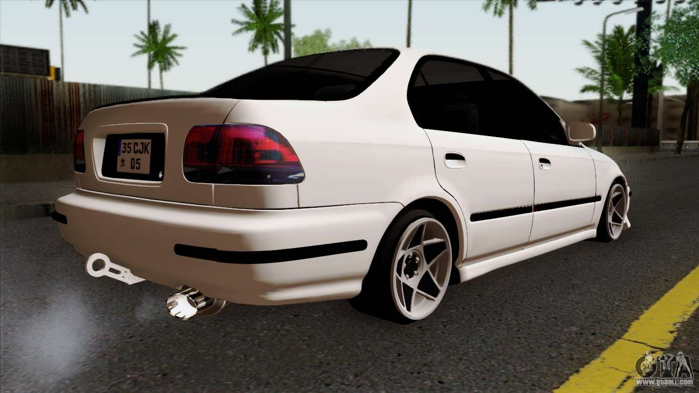 honda civic 1 6 for gta san andreas. Black Bedroom Furniture Sets. Home Design Ideas