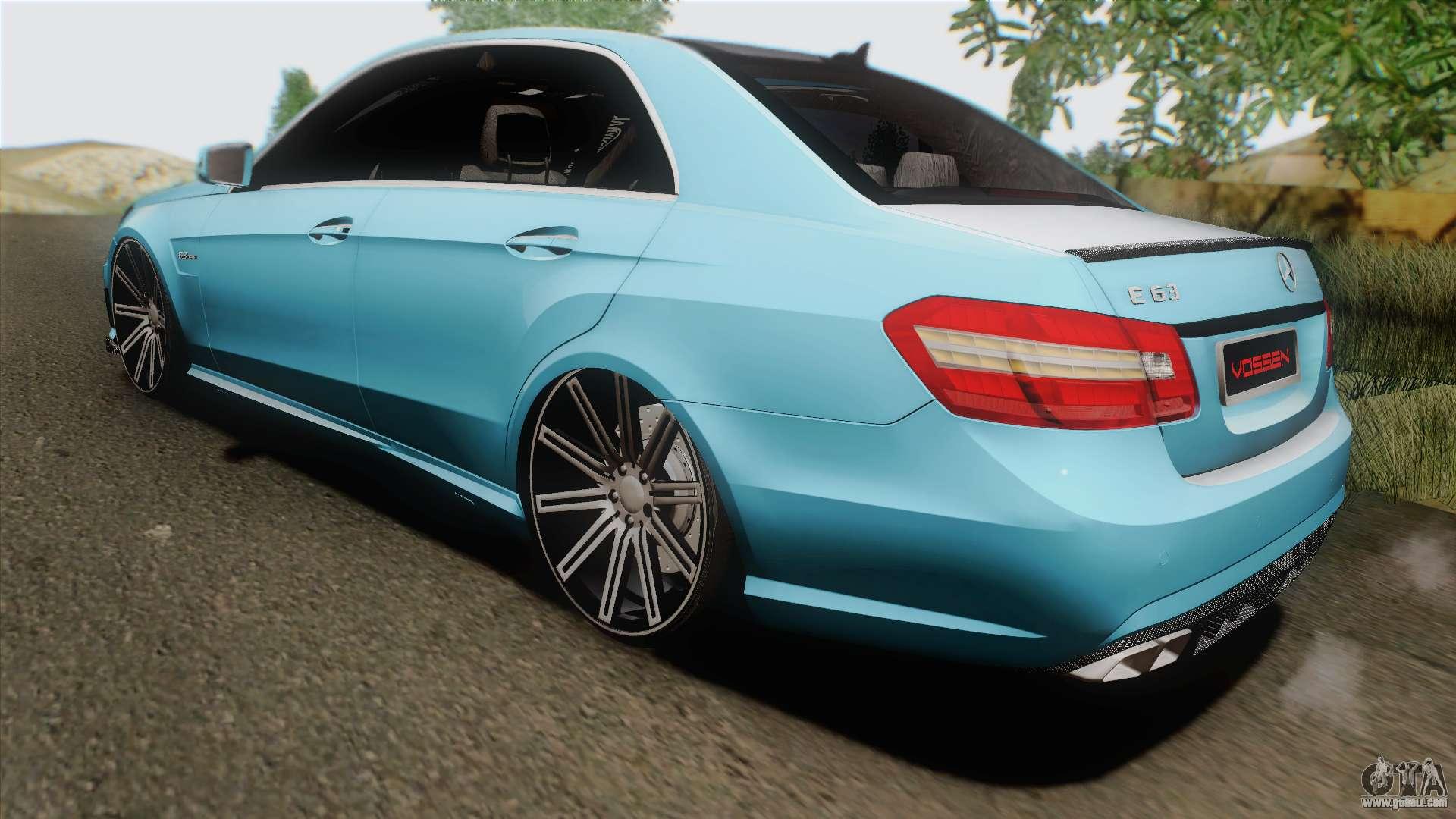 Mercedes benz e63 amg 2010 vossen wheels for gta san andreas for Mercedes benz e63 2010