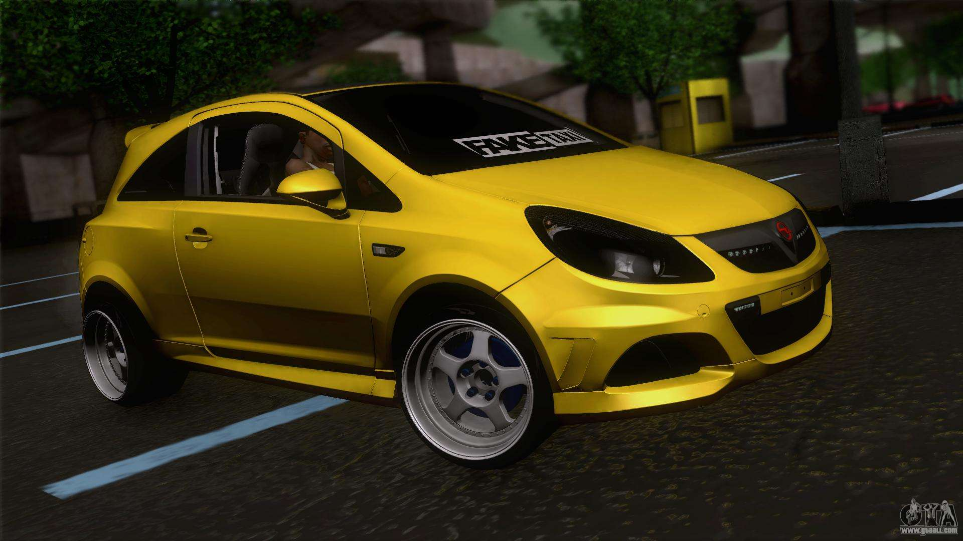 opel corsa opc for gta san andreas. Black Bedroom Furniture Sets. Home Design Ideas