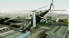 Mi-24D Polish Air Force for GTA San Andreas