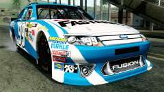 NASCAR Ford Fusion 2012 Plate Track for GTA San Andreas