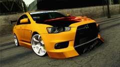 Mitsubishi Lancer Evolution X v2 for GTA San Andreas