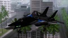 F-14 Neon Blue Macross Frontier for GTA San Andreas