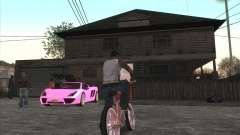 Personal car on Grove Street CJ