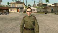 Sergeant military field medicine for GTA San Andreas