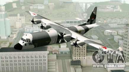Lockheed C-130 Hercules Indonesian Air Force for GTA San Andreas