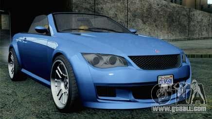 GTA 5 Ubermacht Sentinel Coupe SA Mobile for GTA San Andreas