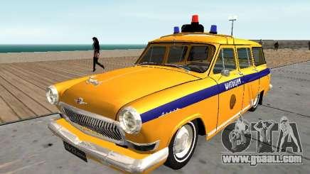 GAS 22 the Soviet police for GTA San Andreas