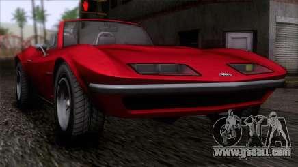 GTA 5 Invetero Coquette Classic TL IVF for GTA San Andreas