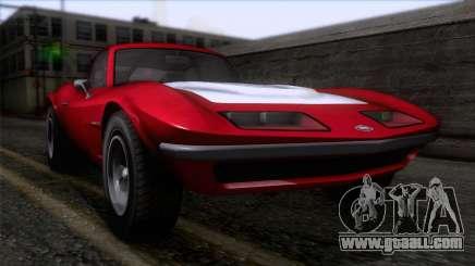 GTA 5 Invetero Coquette Classic HT for GTA San Andreas