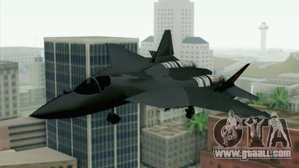 Sukhoi PAK-FA China Air Force for GTA San Andreas