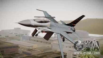 F-16 Fighting Falcon 50th Anniv. of Squadron 313 for GTA San Andreas