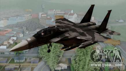 F-15E Yellow Squadron for GTA San Andreas