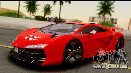 GTA 5 Pegassi Zentorno Zen Edition for GTA San Andreas