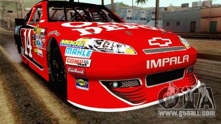 NASCAR Chevrolet Impala 2012 Short Track for GTA San Andreas