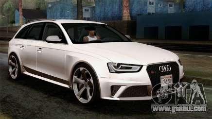 Audi RS4 Avant B8 2013 v3.0 for GTA San Andreas