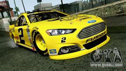 NASCAR Ford Fusion 2013 v4 for GTA San Andreas