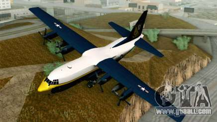 C-130H Hercules Blue Angels for GTA San Andreas