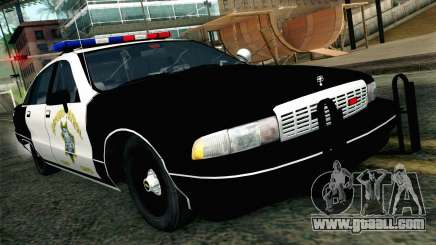 Chevy Caprice SAHP SAPD Highway Patrol v1 for GTA San Andreas