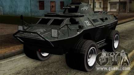 GTA 4 TBoGT Swatvan v2 for GTA San Andreas