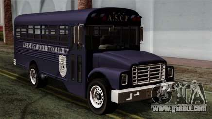 GTA 4 TLaD Prison Bus for GTA San Andreas