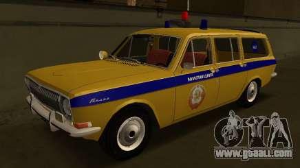 Volga 24-02 GAI for GTA San Andreas