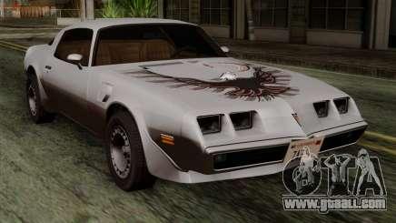 Pontiac Trans AM for GTA San Andreas