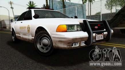 GTA 5 Vapid Stanier Sheriff for GTA San Andreas
