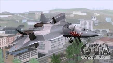 Sukhoi T-50 PAK FA Akula for GTA San Andreas