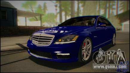 Mercedes-Benz S65 AMG 2012 Road version for GTA San Andreas