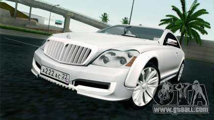 Maybach 57S Coupe Xenatec for GTA San Andreas
