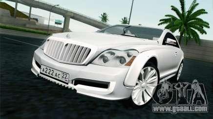 Maybach 57S Coupe Xenatec for GTA San Andreas
