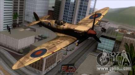 Stanislaw Skalski Supermarine Spitfire MK IXC for GTA San Andreas