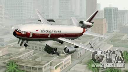 DC-10-30 Garuda Indonesia Sulawesi for GTA San Andreas