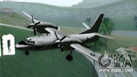 AN-32B Croatian Air Force Opened for GTA San Andreas