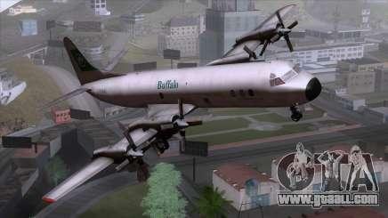 L-188 Electra Buffalo Airways for GTA San Andreas