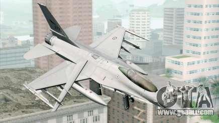 F-16 Fighting Falcon RNoAF PJ for GTA San Andreas