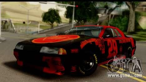 Elegy NASCAR for GTA San Andreas left view