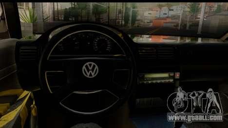 Volkswagen Passat B5 for GTA San Andreas inner view