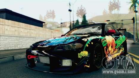 Nissan Silvia S15 Itasha for GTA San Andreas