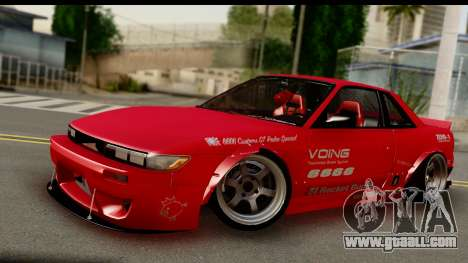 Nissan Silvia S13 Rocket Bunny for GTA San Andreas