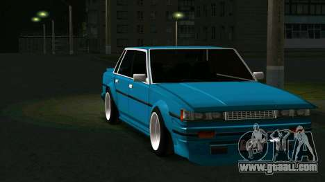Toyota Cresta GX71 for GTA San Andreas back view