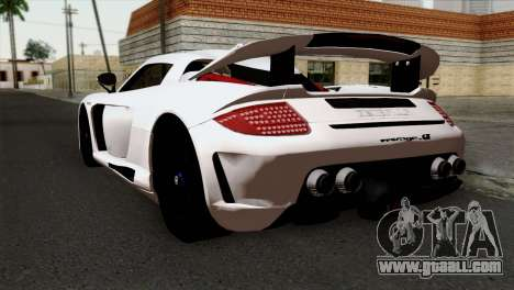 Gemballa Mirage GT v2 Windows Up for GTA San Andreas left view