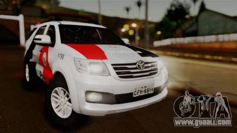 Toyota Hilux SW4 2014 Forca Tatica for GTA San Andreas