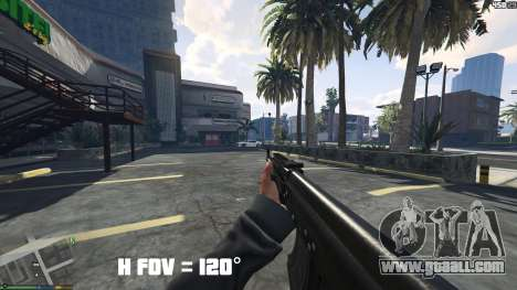 FOV mod v1.3 for GTA 5
